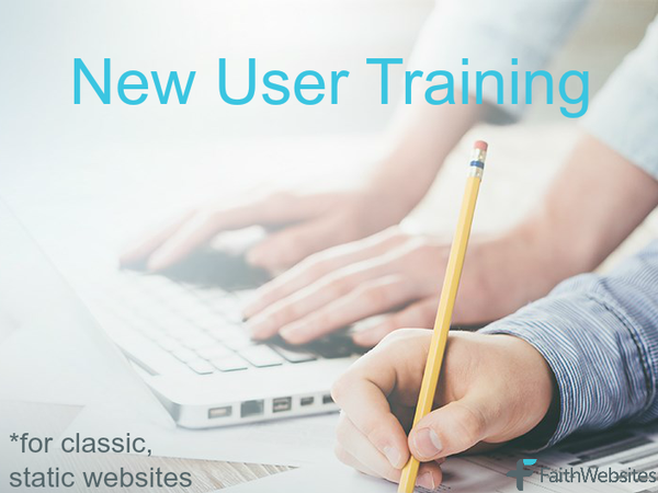 New User Training - Classic, Static